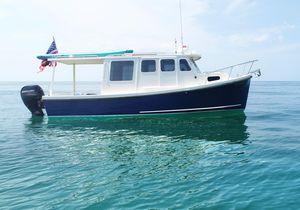 Used Rosborough Rf-246 Sedan Cruiser Trawler Boat For Sale