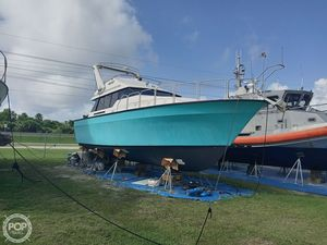 Used Mainship Mediterranean 35 Sports Fishing Boat For Sale