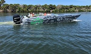 Used Awesome 31 Cat High Performance Boat For Sale
