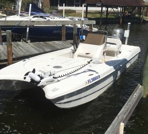 Used Comet Pro Star 20 Power Catamaran Boat For Sale
