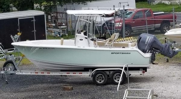 Used Sportsman Open 212 Center Console Center Console Fishing Boat For Sale