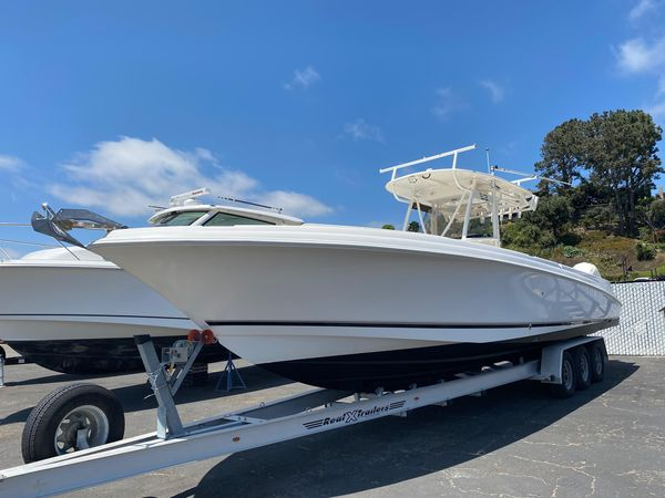 Used Wellcraft 35 Scarab Tournament Saltwater Fishing Boat For Sale