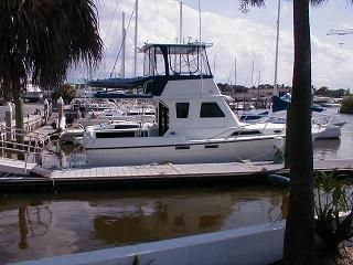 Used Custom Fayne Limbo Convertible Sports Fishing Boat For Sale