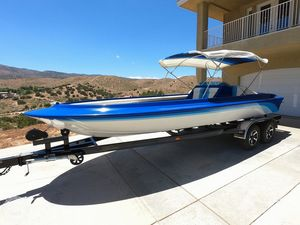 Used Custom Speed Marine Open Bow Prototype High Performance Boat For Sale