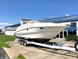 Used Larson Cabrio 310 Mid-Cabin Express Cruiser Boat For Sale