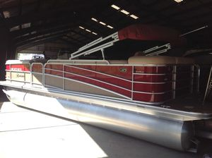 Used Berkshire 230cl4g Sts Bp3 Pontoon Boat For Sale