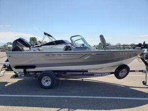 Used Crestliner 1700 Vision Freshwater Fishing Boat For Sale
