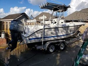 Used Cobia 24 Deep V Offshore Center Console Fishing Boat For Sale