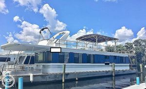 Used Riverchase Cruisers Inc 14 x 66 House Boat For Sale