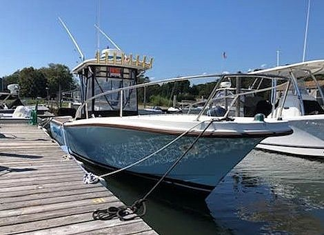 Used Master Marine 28 Center Console Fishing Boat For Sale
