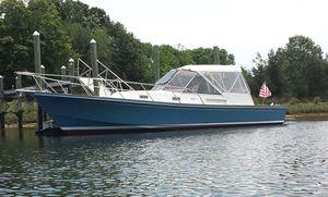 Used Little Harbor 36 Whisperjet Downeast Fishing Boat For Sale