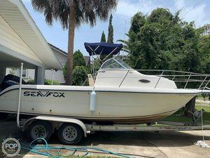 Used Sea Fox 230 Walkaround Fishing Boat For Sale