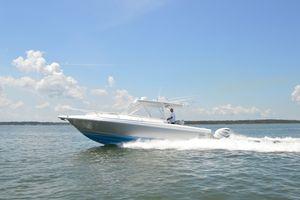 Used Intrepid 348 Walkaround Cuddy Walkaround Fishing Boat For Sale