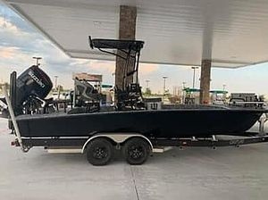 Used Dargel 23hdx Bay Boat For Sale