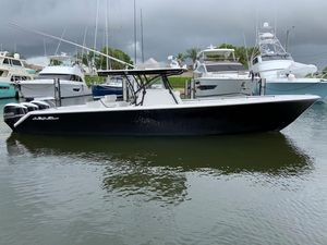 Used Seahunter Tournament 37 Saltwater Fishing Boat For Sale