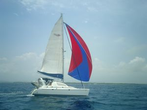 Used Robertson & Caine Leopard 38 Catamaran Sailboat For Sale