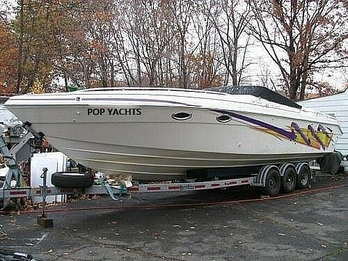 Used Baha Cruisers Mach 1 340 Targa High Performance Boat For Sale