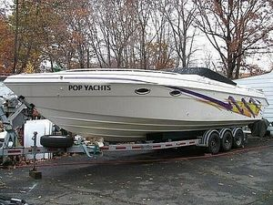 Used Baha Cruisers Mach 1 340 Targa High Performance Boat For Sale