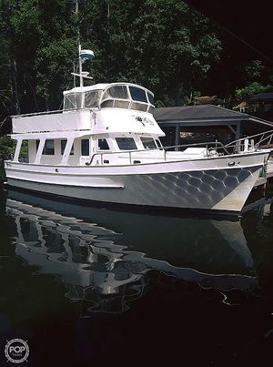 Used Marine Trader 40' Trawler Boat For Sale