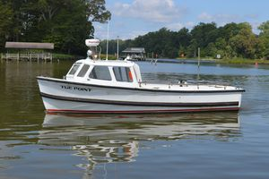 Used Custom 26' Utility Launch MK-2 Commercial Boat For Sale