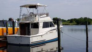 Used Hatteras 38 Saltwater Fishing Boat For Sale