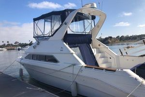 Used Sea Ray 350 fly Power Cruiser Boat For Sale