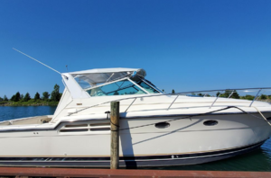 Used Tiara Yachts 4100 Express Cruiser Boat For Sale