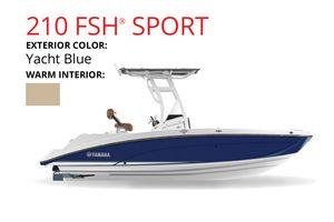 New Yamaha Boats 210 FSH Sport Cruiser Boat For Sale