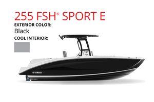 New Yamaha Boats 255 FSH SPORT E Cruiser Boat For Sale