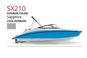 New Yamaha Boats SX210 Cruiser Boat For Sale