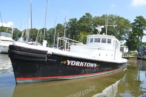 Used Custom Pilots Lauch Commercial Boat For Sale