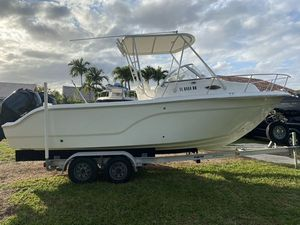 Used Sea Fox 236 Walkaround Aft Cabin Boat For Sale