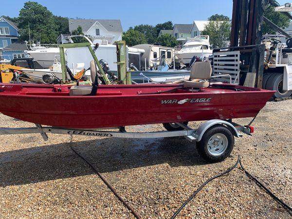 Used War Eagle 542FS Stick Steer Freshwater Fishing Boat For Sale