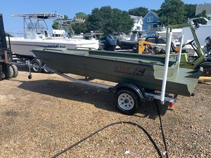 Used Excel 1754 F4 Shallow Water Jon Boat For Sale