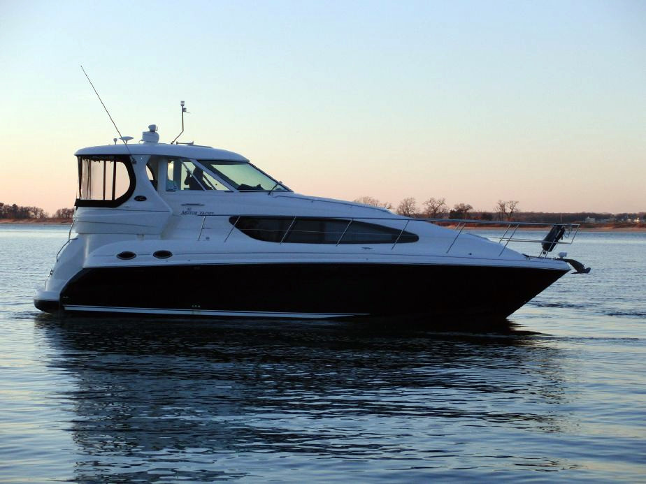 2007 used sea ray 40 motor yacht aft cabin boat for sale