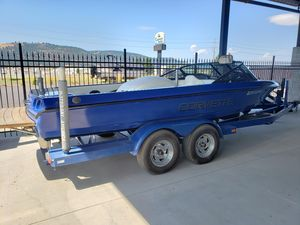 Used Malibu Corvette Limited Edition Ski and Wakeboard Boat For Sale