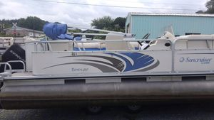 Used Suncruiser LS210 Cruiser Pontoon Boat For Sale