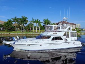 Used President 58 Motoryacht Aft Cabin Boat For Sale