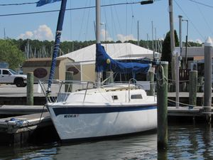 Used Cal 25 Sloop Sailboat For Sale