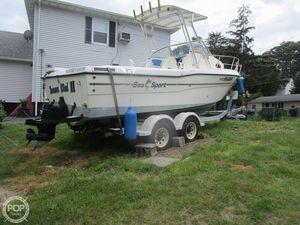 Used Sea Sport 2344 Walkaround Fishing Boat For Sale
