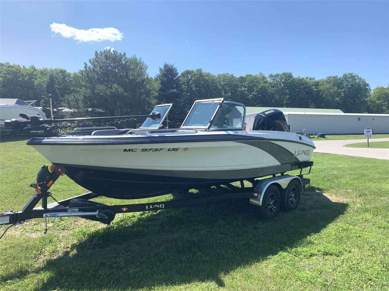 2019 Used Lund Tyee 189 Sports Fishing Boat For Sale 55 000 Walloon Lake Mi Moreboats Com