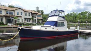 Used Bruno & Stillman Downeast Sportfish Trawler Downeast Fishing Boat For Sale