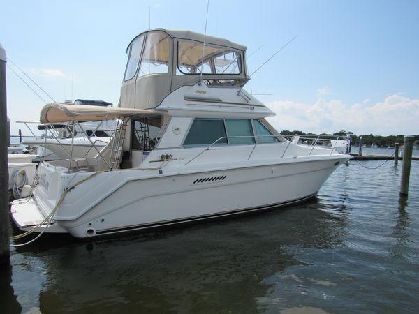 Used Sea Ray 370 Sedan Bridge Cruiser Boat For Sale