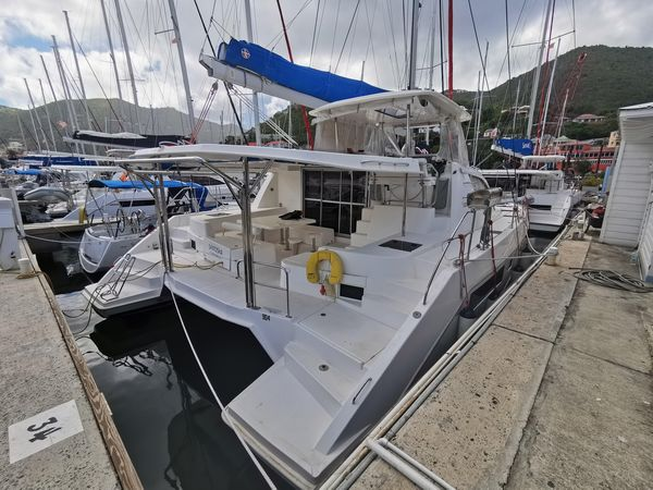 Used Leopard 48 Catamaran Sailboat For Sale