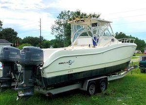 Used World Cat 266 SC Catamaran Boat For Sale