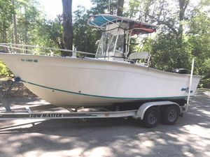 Used Cape Horn 21 Offshore Center Console Fishing Boat For Sale