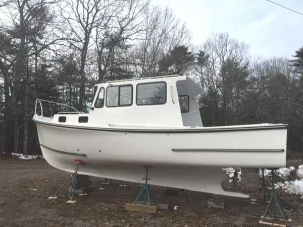 Used Bhm 28 Downeast Fishing Boat For Sale