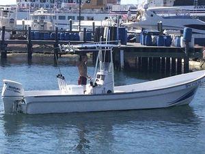 Used Imemsa Panga W 25-BA Center Console Fishing Boat For Sale