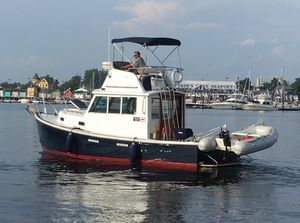 Used Cape Dory 28 Flybridge Downeast Fishing Boat For Sale