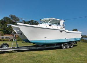 Used Baha Cruisers King Cat 340 Catamaran Boat For Sale